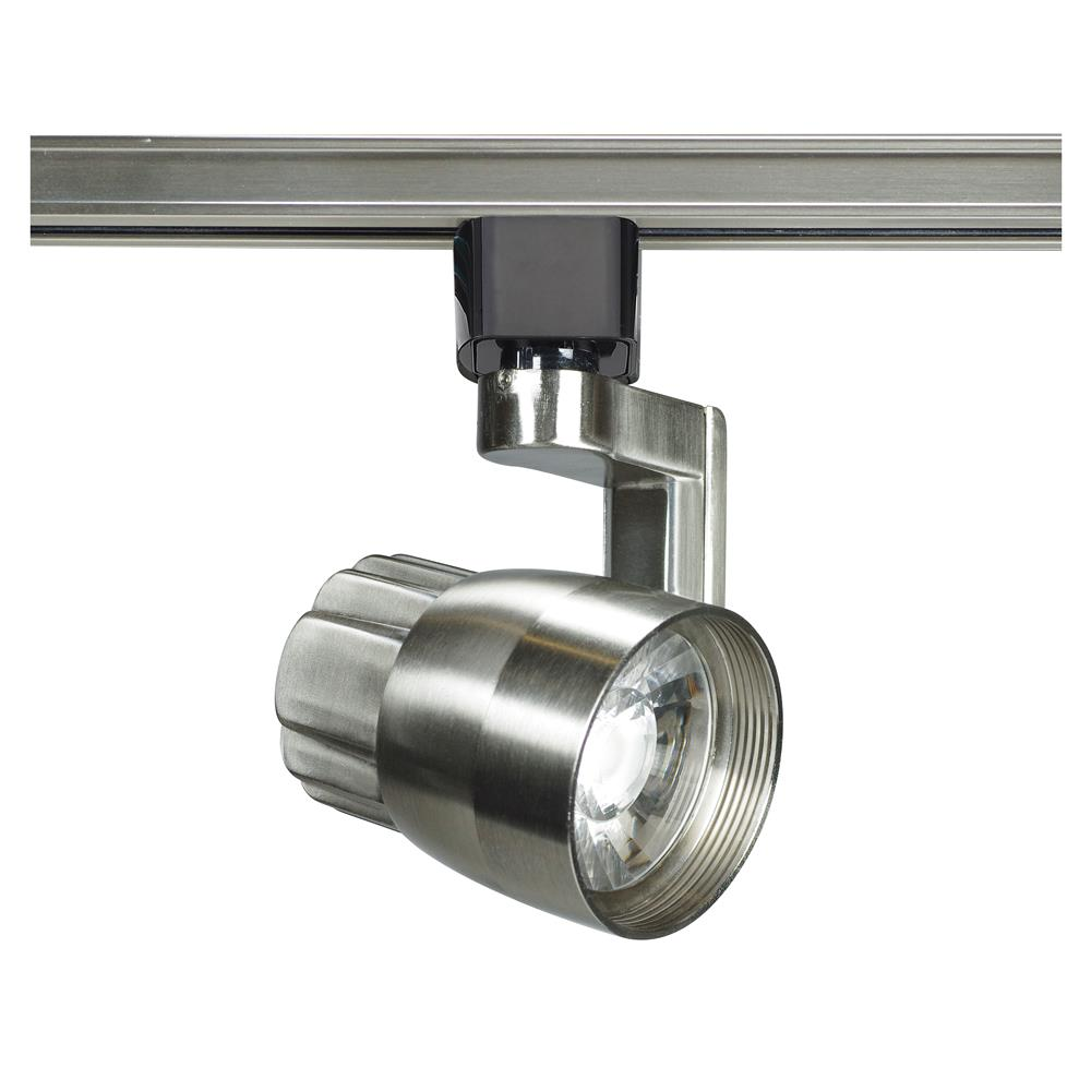 Nuvo Lighting TH427  1 Light - LED - 12W Track Head - Angle arm - Brushed Nickel - 36 Deg. Beam in Brushed Nickel Finish
