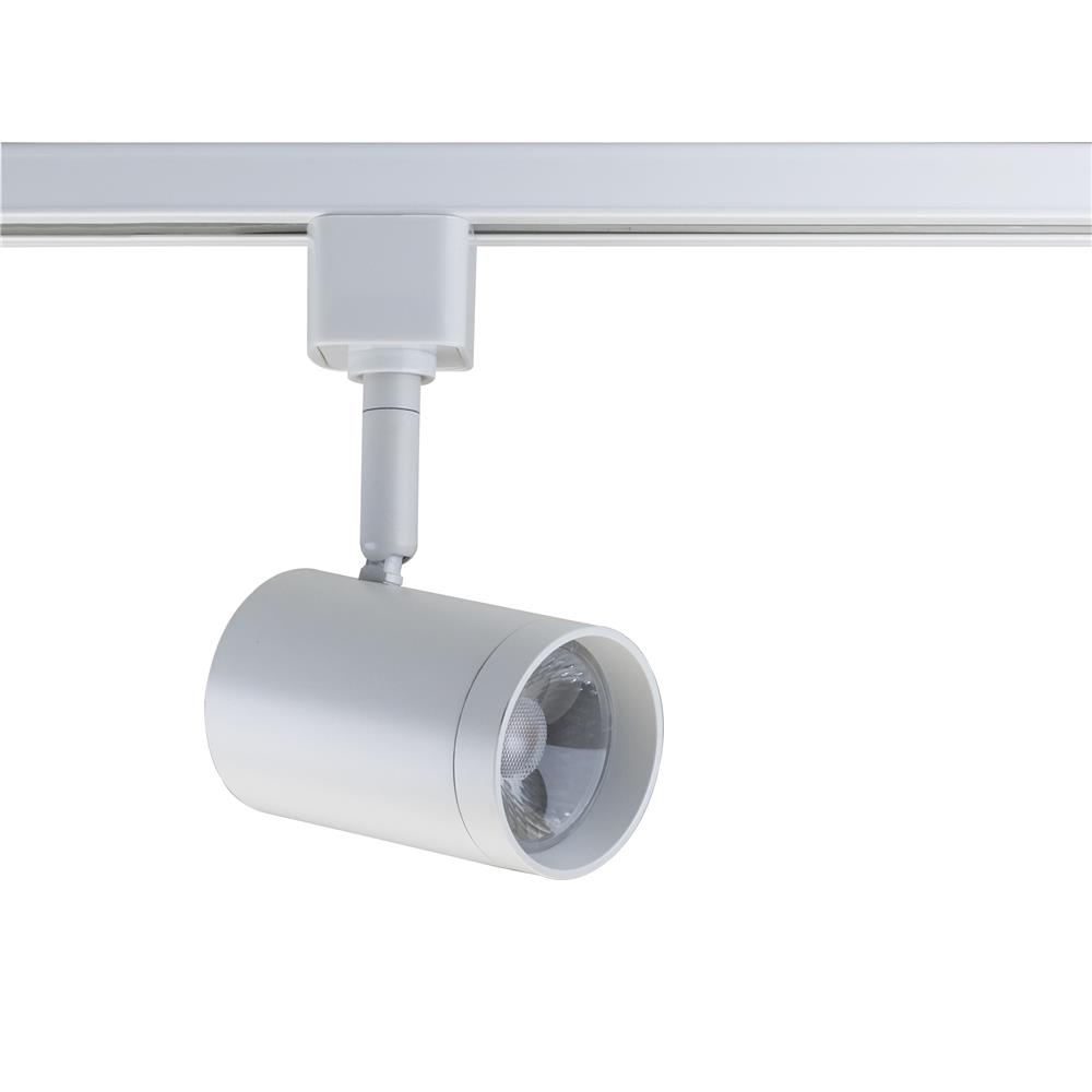Nuvo Lighting TH467  1 Light - LED - 12W Track Head - Square - Brushed Nickel - 36 Deg. Beam in Brushed Nickel Finish