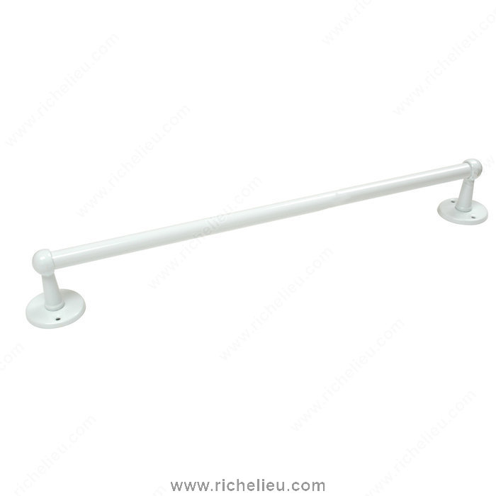 "Nystrom 40801 18"" Towel Bar in White"