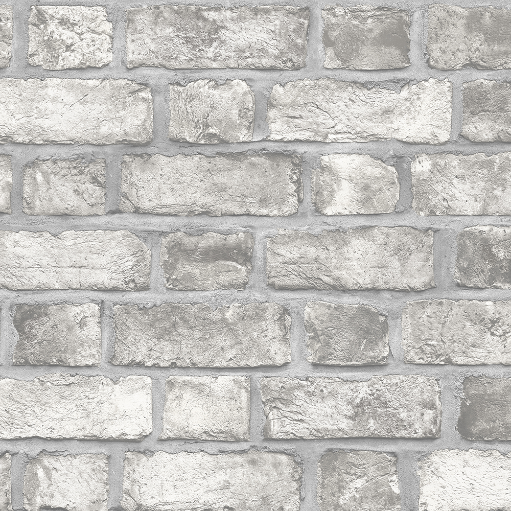 Patton Wallcoverings FH37517 Farmhouse Living Farmhouse Brick Wallpaper