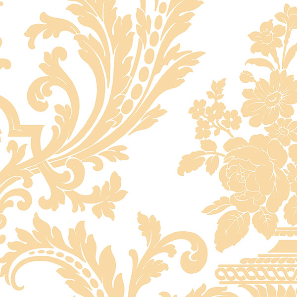 Norwall DS29700 Stripes & Damask 2 Wallpaper