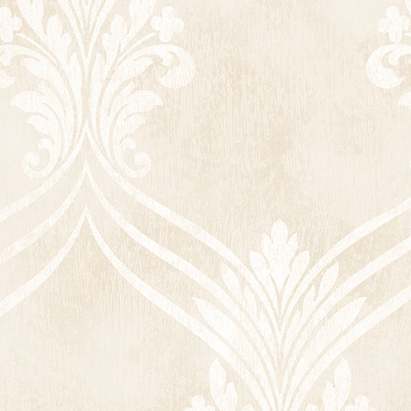Norwall DS29702 Stripes & Damask 2 Wallpaper