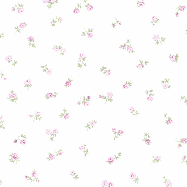 Norwall PR33815 Floral Prints 2 Wallpaper