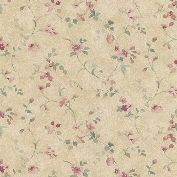 Norwall PR33822 Floral Prints 2 Wallpaper