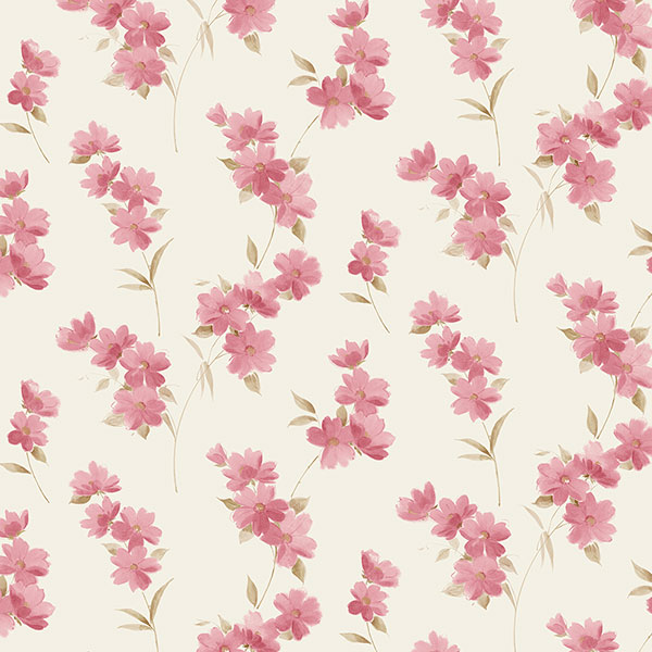 Norwall PR33851 Floral Prints 2 Wallpaper