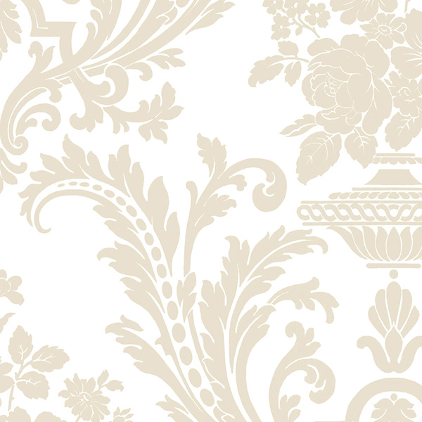 Norwall SD25666 Stripes & Damask 2 Wallpaper