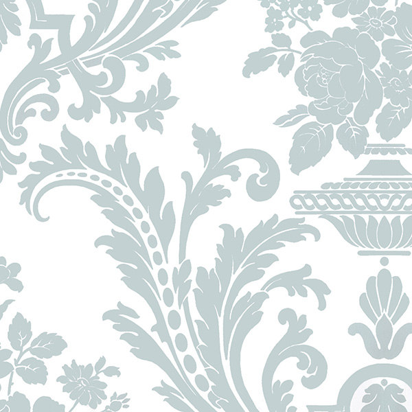 Norwall SD25667 Stripes & Damask 2 Wallpaper