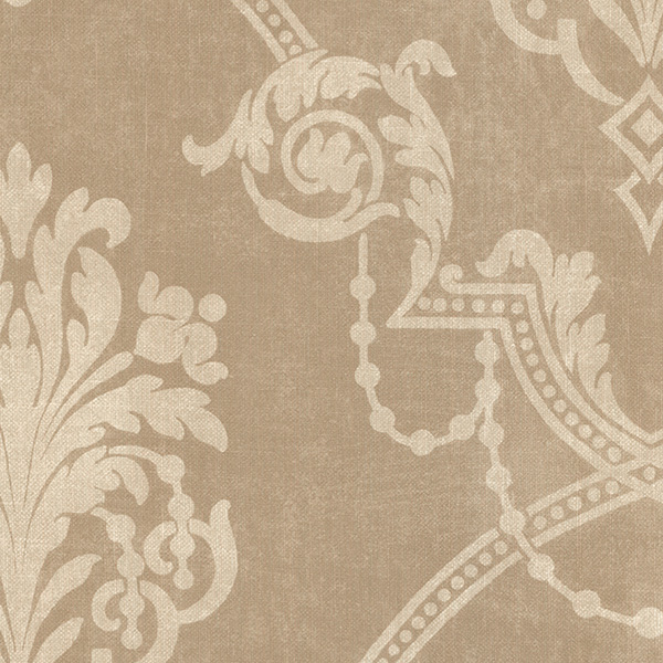 Norwall SD25677 Stripes & Damask 2 Wallpaper