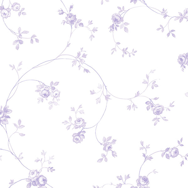 Norwall PR33827 Floral Prints 2 Wallpaper