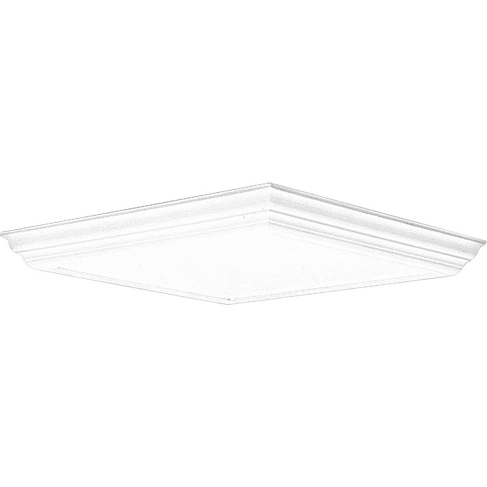 Progress Lighting P7273-30 Modular Fluorescent Acrylic Diffuser in White