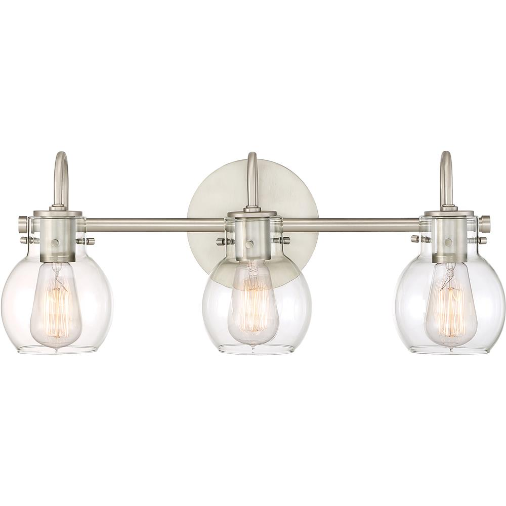 Quoizel Lighting ANW8603AN Andrews Bath Light in Antique Nickel