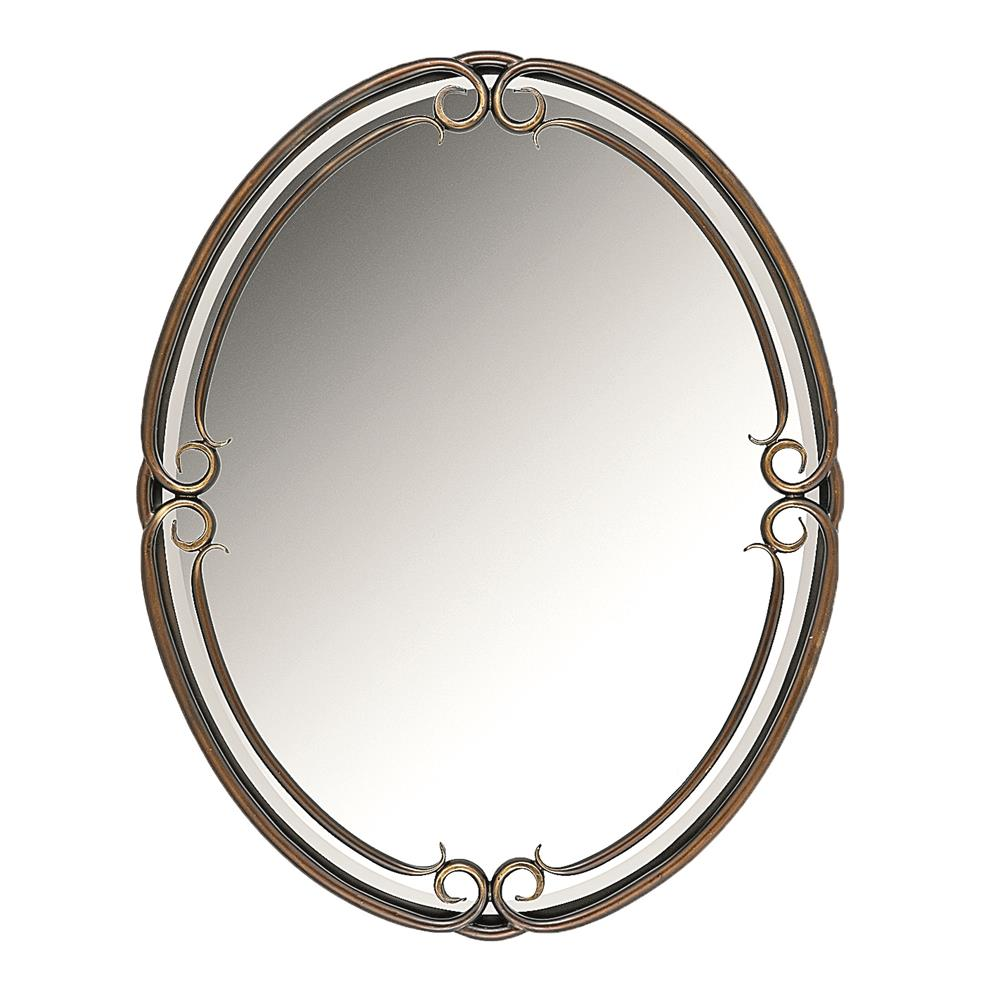 Quoizel Lighting DH43024PN Duchess Mirror in Palladian Bronze