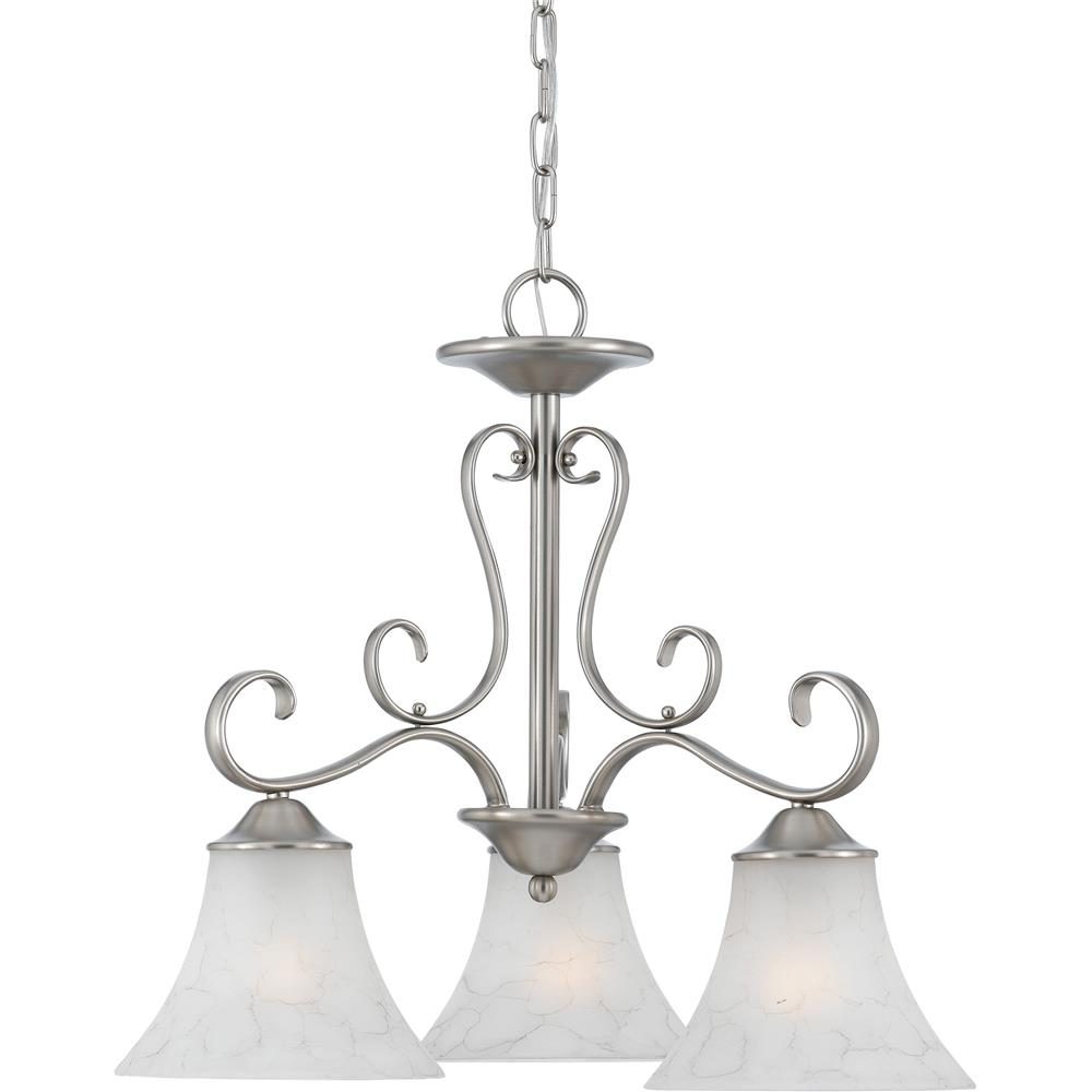 Quoizel Lighting DH5103AN Duchess Chandelier in Antique Nickel