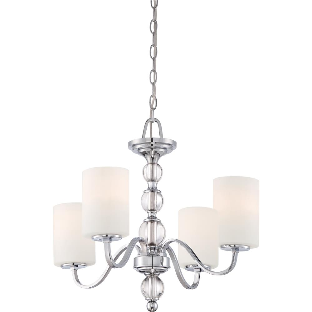 Quoizel Lighting DW5004C Downtown Chandelier in Polished Chrome