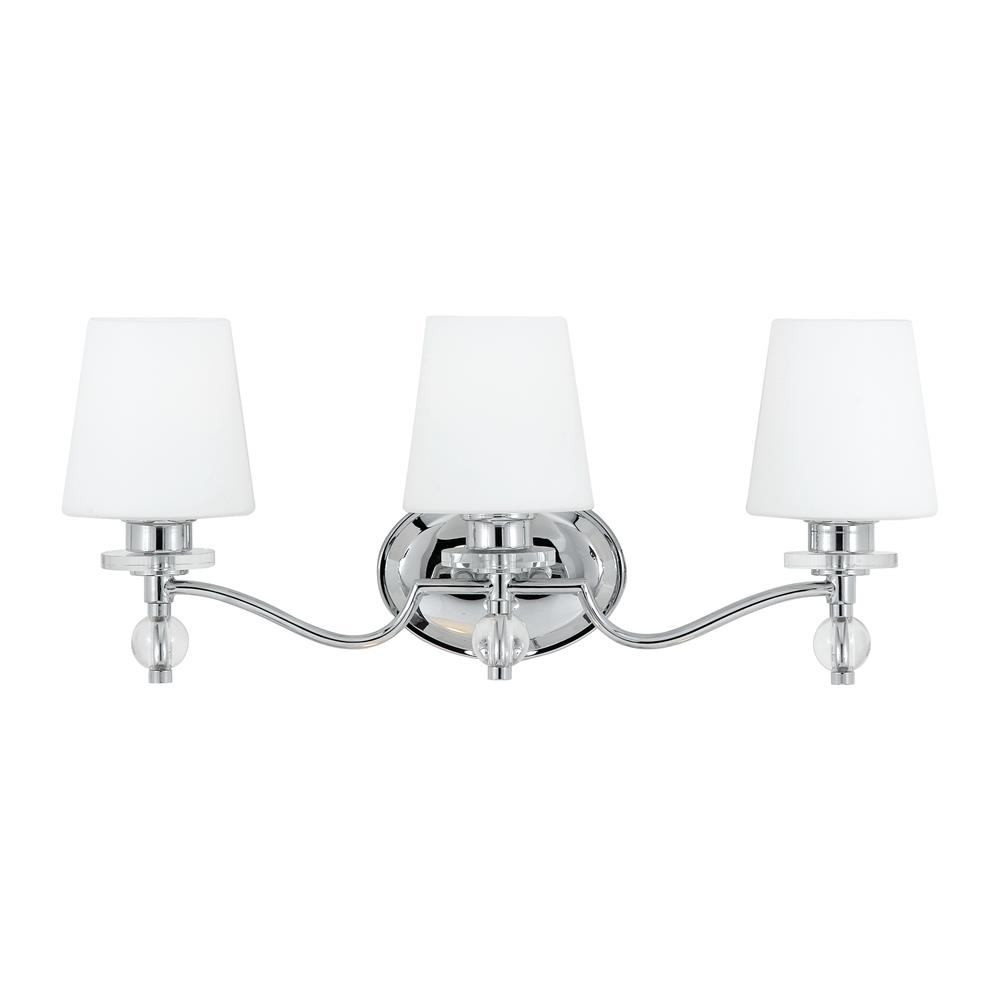 Quoizel Lighting HS8603C Hollister Bath Fixture in Polished Chrome