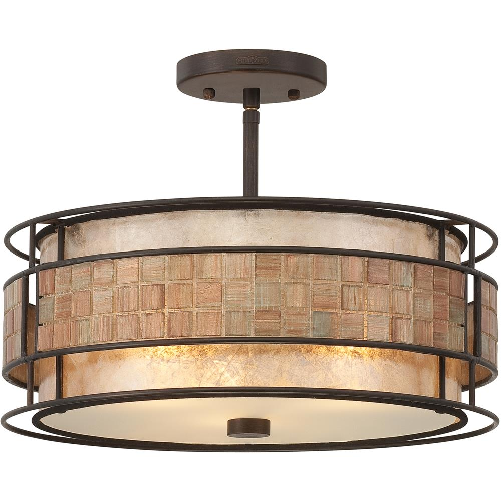 Quoizel Lighting MC842SRC Laguna Semi-Flush Mount in Renaissance Copper