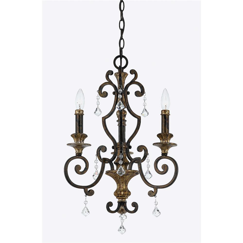 Quoizel Lighting MQ5003HL Marquette Chandelier in Heirloom
