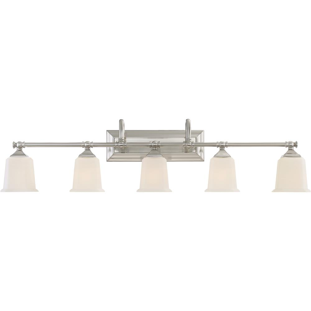 Quoizel Lighting NL8605BN Nicholas Bath Light in Brushed Nickel