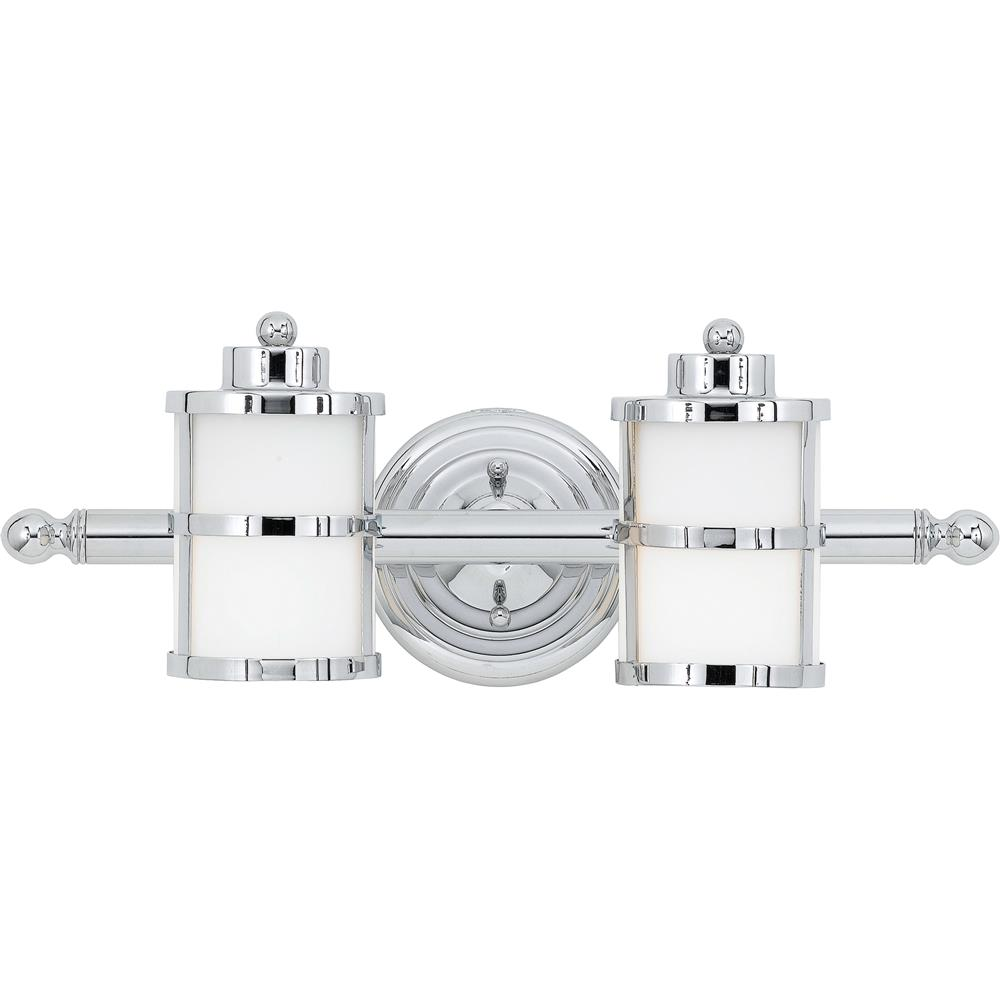 Quoizel Lighting TB8602C Tranquil Bay Bath Fixture in Polished Chrome