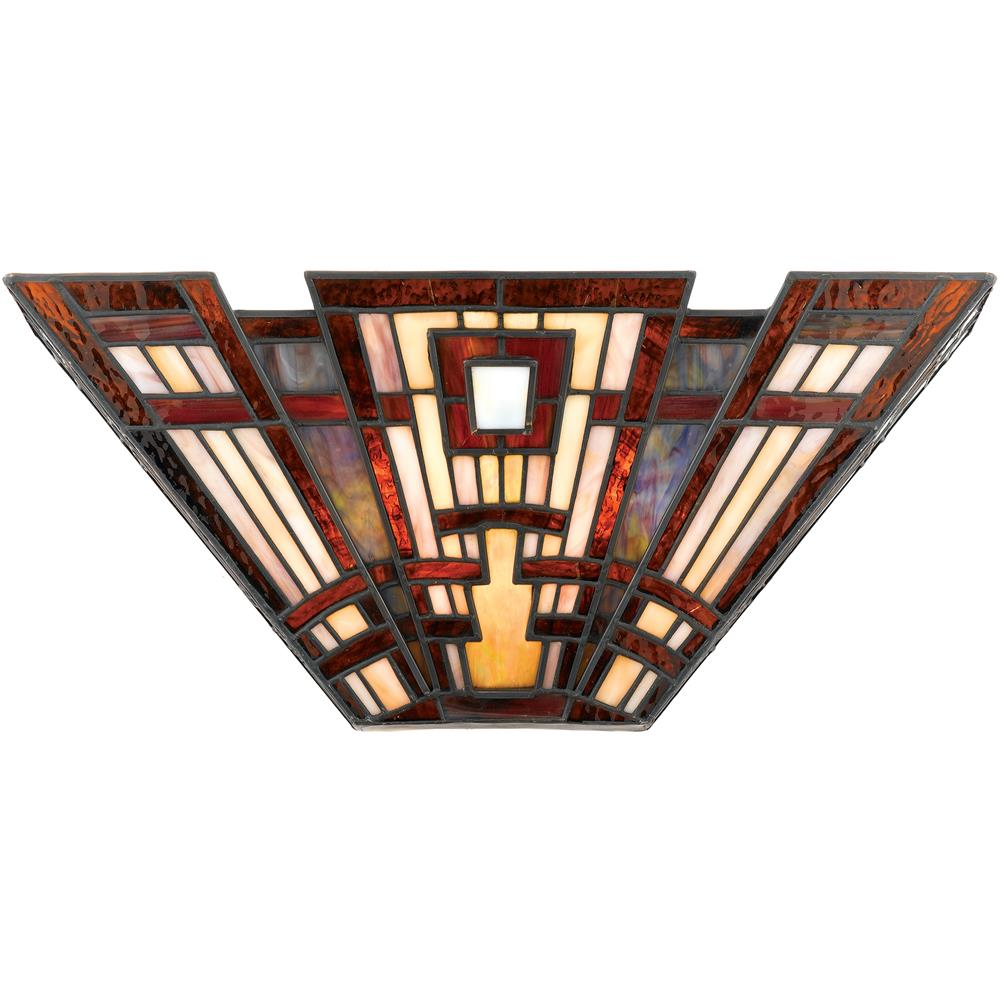 Quoizel Lighting TFCC8802 Classic Craftsman Wall Fixture in Valiant Bronze