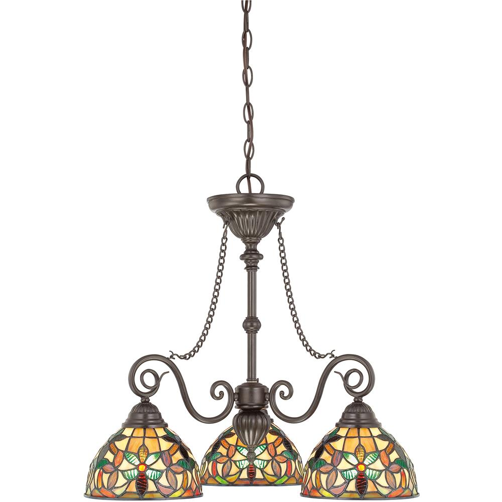 Quoizel Lighting TFKM5103VB Kami Chandelier in Vintage Bronze