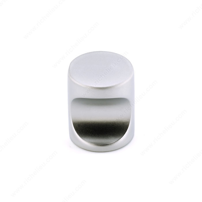 Richelieu Hardware BP00320174 Contemporary Metal Knob - 0320 in Matte Chrome