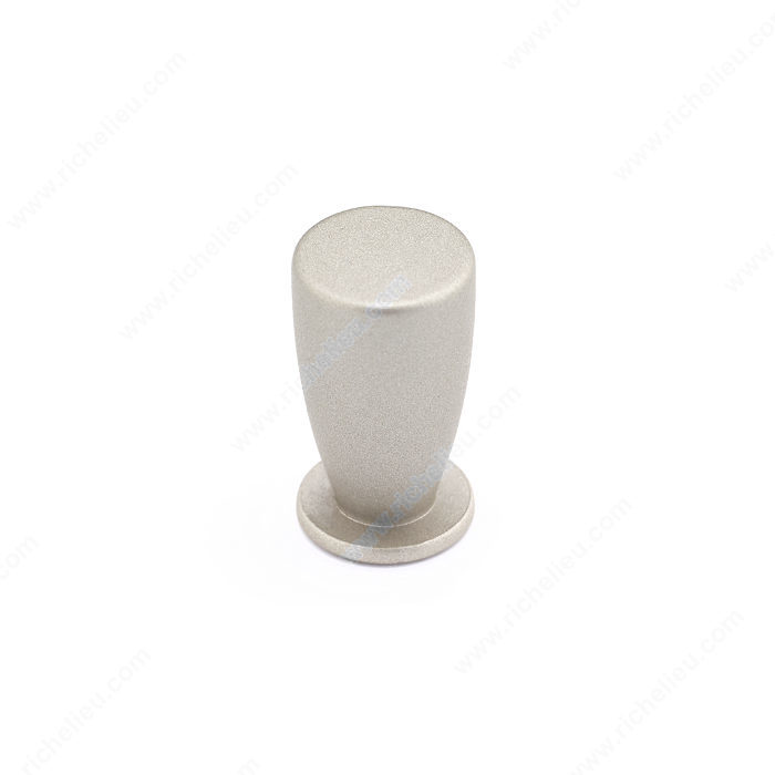 Richelieu Hardware BP20712195 Contemporary Metal Knob - 712 in Brushed Nickel