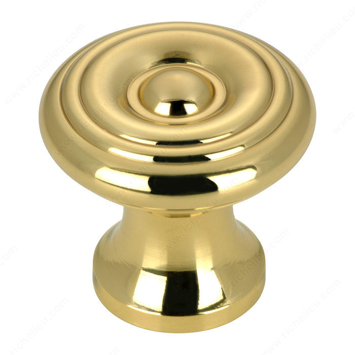 Richelieu Hardware BP1429130 Classic Brass Knob - 142 in Brass