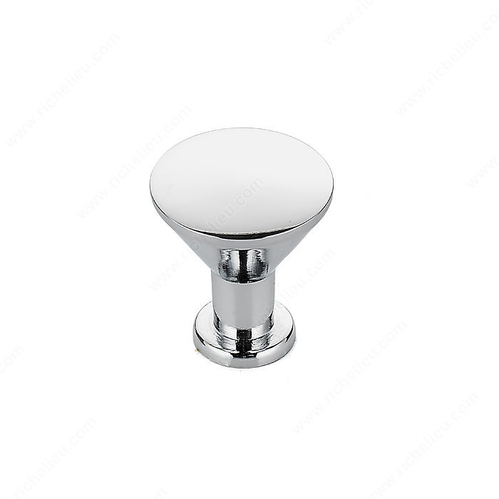 Richelieu Hardware BP842140 Contemporary Metal Knob - 842 in Chrome