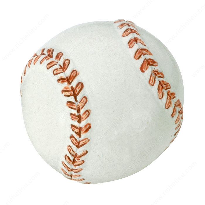 Richelieu Hardware BP934900 Eclectic Polyester Baseball Knob in Pattern