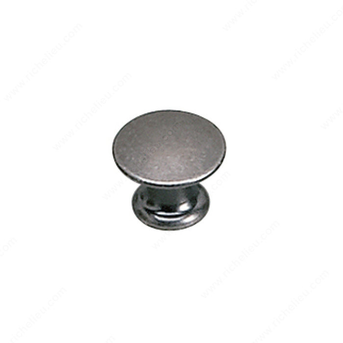 Richelieu Hardware 2445913904 Povera Collection Solid Brass Knob - 2445 in Faux Iron