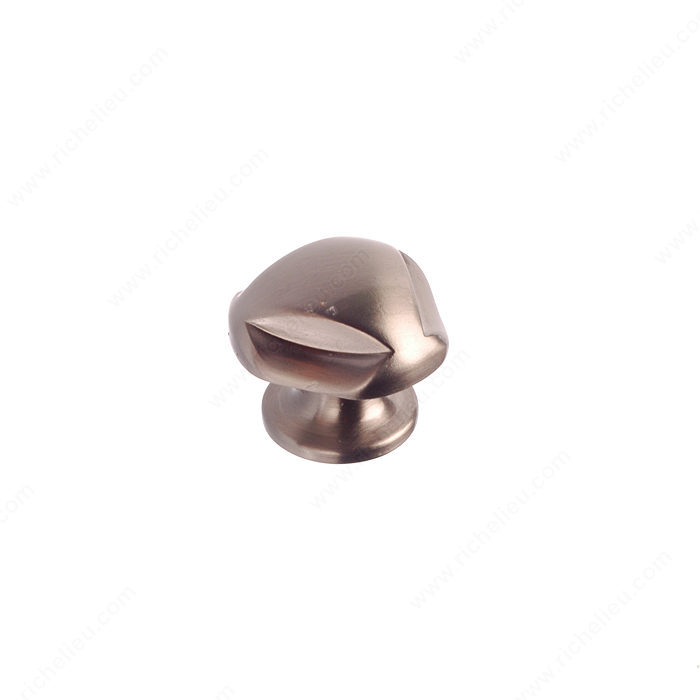 Richelieu Hardware BP2391528195 Classic Metal Knob - 23915 in Brushed Nickel