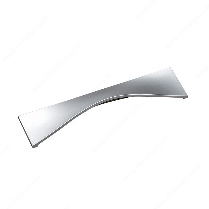 Richelieu Hardware 2170096174 Contemporary Metal Handle Pull - 217 in Matte Chrome