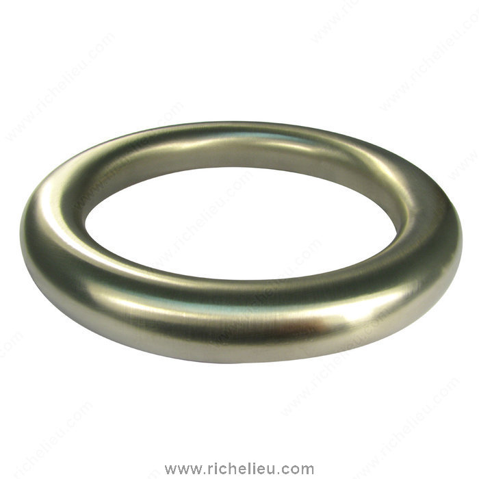 Richelieu Hardware 1109140184 Autore Collection Metal Ring Pull  -  1109  - Matte Nickel