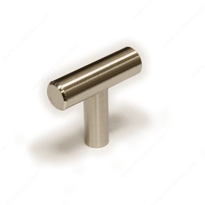 Richelieu Hardware Bp30540195 Contemporary T-Knob in Brushed Nickel