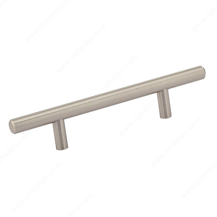 Richelieu Hardware BP30596195 Contemporary Metal Handle Pull - 305 in Brushed Nickel