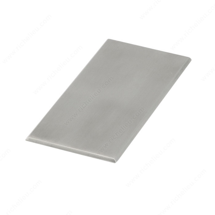 Richelieu 1207563170 Stainless Steel Push Plate