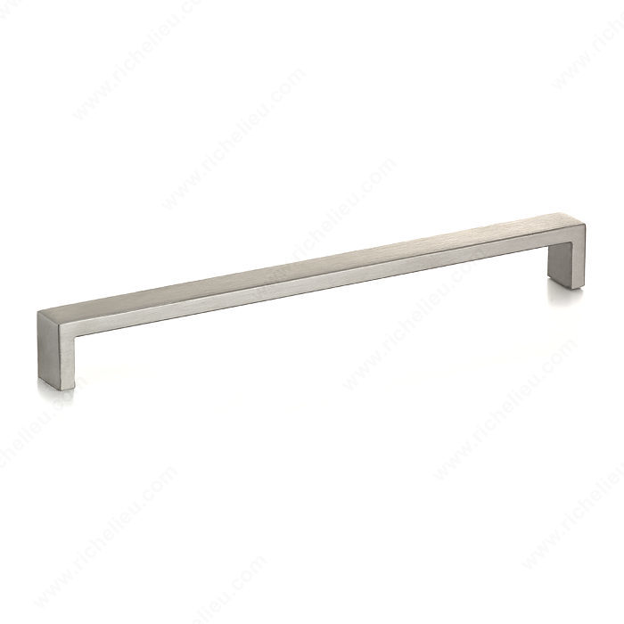 Richelieu Hardware Bp7544257170 Contemporary Stainless Steel Grab Pull 257MM Stainless Steel Finish