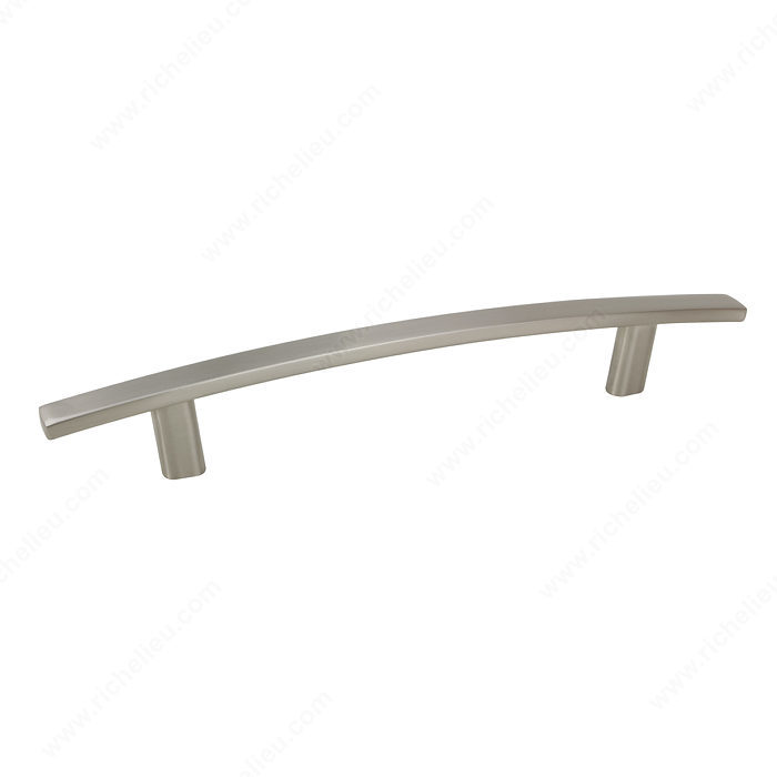 Richelieu Hardware Bp650128195 Transitional Metal Handle Pull 128MM Brushed Nickel Finish