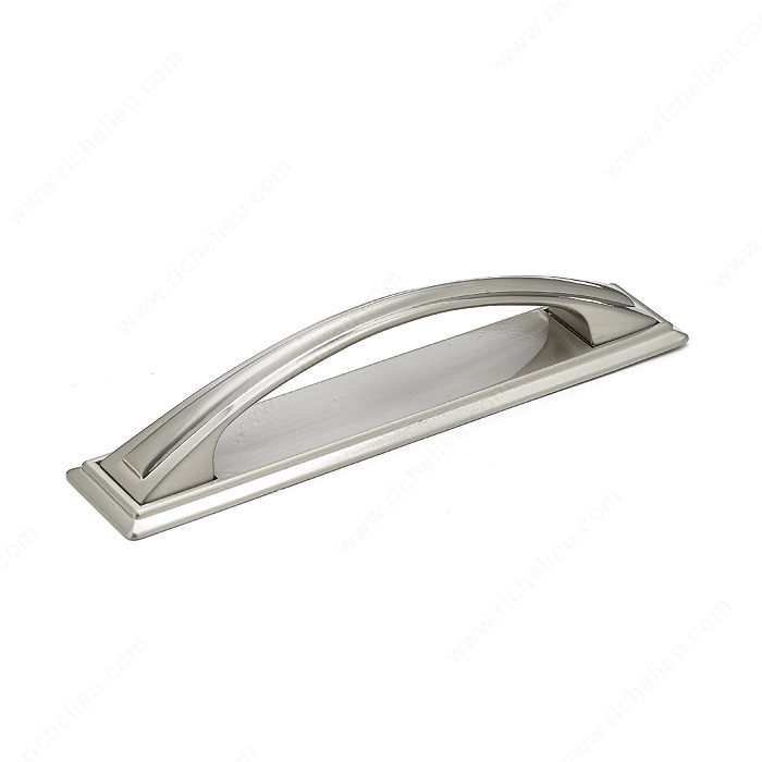 Richelieu Hardware BP26987195 Classic Metal Handle Pull - 269 in Brushed Nickel