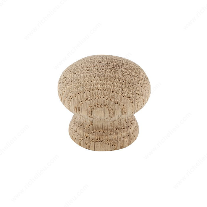 Richelieu BP7035250 Eclectic Wood Knob