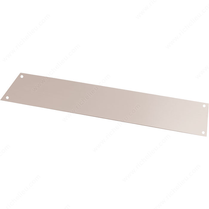 Richelieu 94116195AMC Contemporary Copper Push Plate - 94