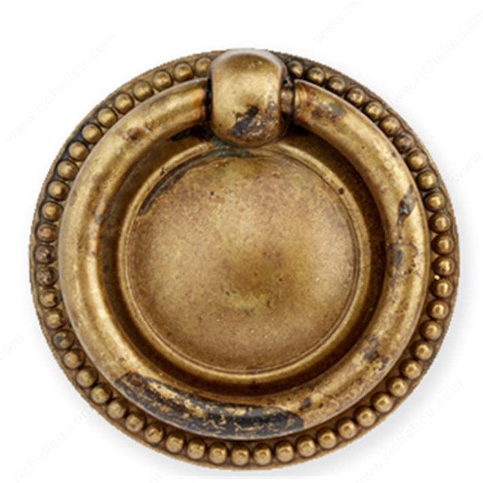 Richelieu 12212040163 Traditional Brass Knob - 1221