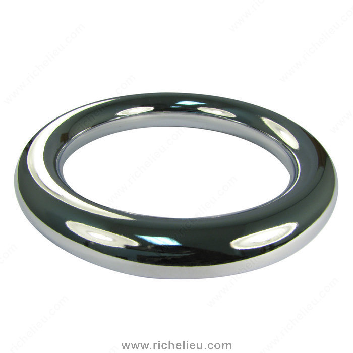 Richelieu Hardware 1109140140 Autore Collection Metal Ring Pull  -  1109  - Polished Chrome
