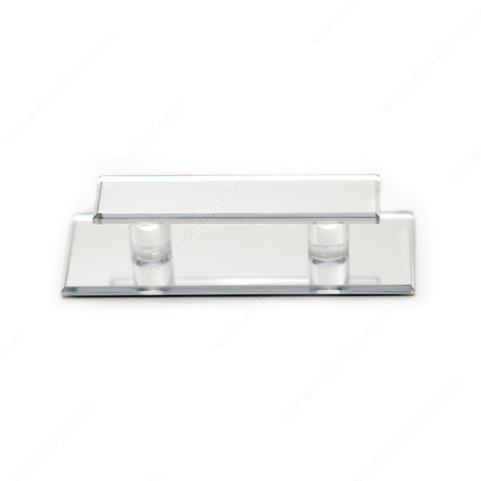 Richelieu D010201 Contemporary Acrylic Pull for Glass Door