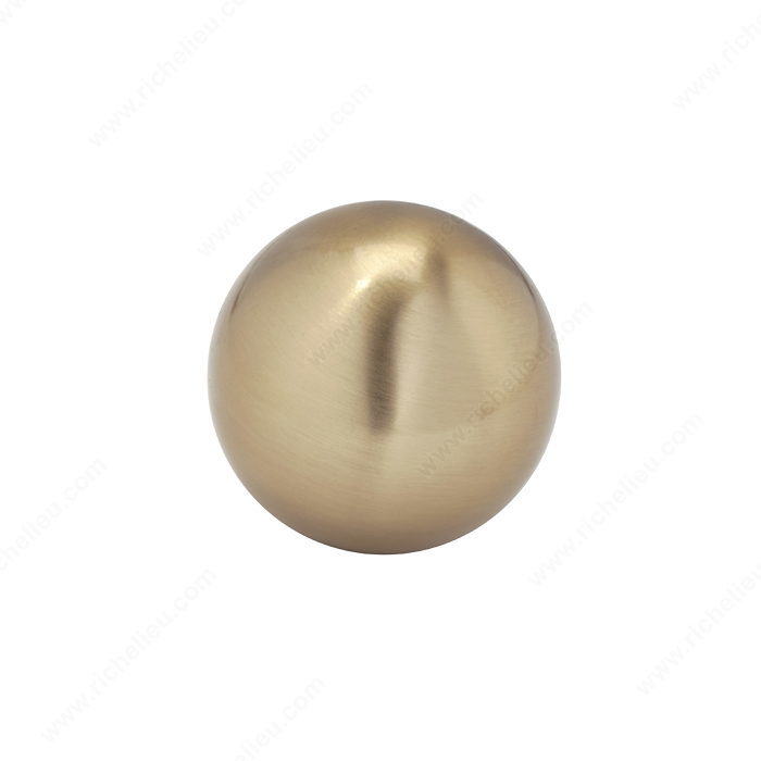 Richelieu BP878940CHBRZ Traditional Metal Knob - 8789