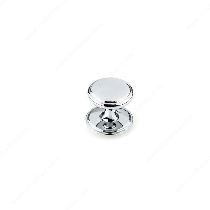 Richelieu BP224840140 Transitional Metal Wardrobe Knob - 2248 - Chrome