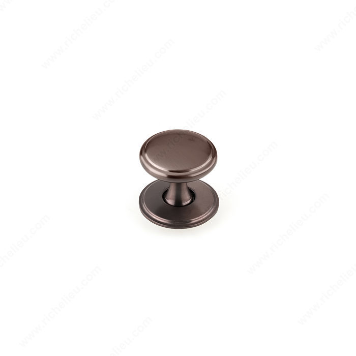 Richelieu BP224840HBRZ Transitional Metal Wardrobe Knob - 2248 - Honey Bronze