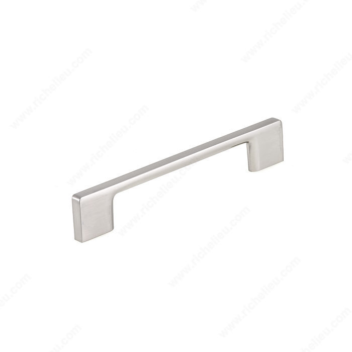 Richelieu Hardware Bp8160128195 Contemporary Metal Bridge Pull 128MM Brushed Nickel Finish