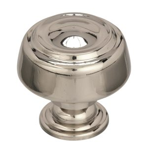 Richelieu BP538072PN Transitional Zinc Oversized Knob - 53807